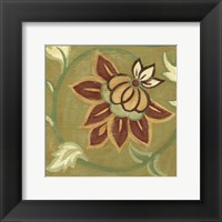Patchwork VI Framed Print