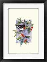 Framed Red-Breasted Grosbeak