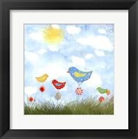 Framed Bird Land