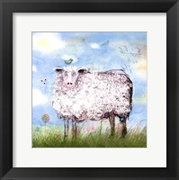 Baa Land Framed Print