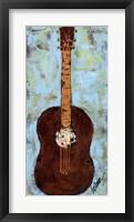 Six Strings IV Framed Print