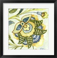 Framed Decorative Golden Bloom IV