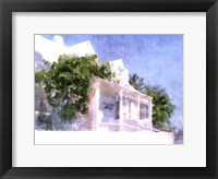Framed Street Cottage II