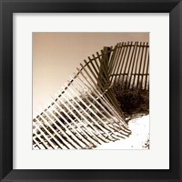 Framed Fences in the Sand III
