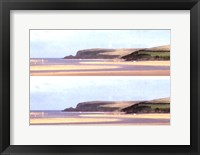 Framed 2-Up Sunlit Sands II