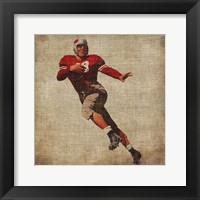 Vintage Sports IV Framed Print