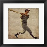 Vintage Sports VI Framed Print
