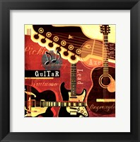Music Notes III Framed Print