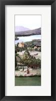 Framed Lavender Tuscany III