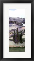Framed Lavender Tuscany IV