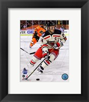 Framed Ryan Callahan 2012 NHL Winter Classic Action