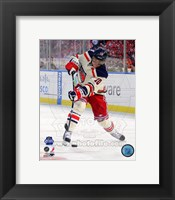 Marian Gaborik 2012 NHL Winter Classic Action Framed Print