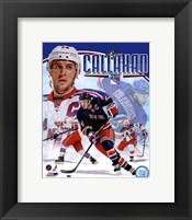 Framed Ryan Callahan 2012 Portrait Plus