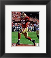 Framed Vernon Davis Touchdown Catch NFC Divisional Playoff Game Action