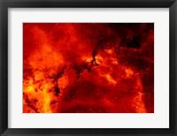 Rosette Nebula Framed Print