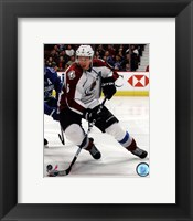 Framed Erik Johnson 2011-12 Action
