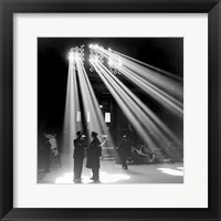 Framed Chicago Union Station 1943