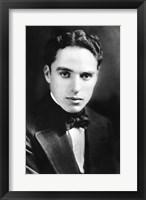 Framed Charlie Chaplin - B&W