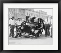 Framed Auto Wreck, USA, 1923