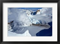 Framed Fumarole on Mount Redoubt, Alaska, USA
