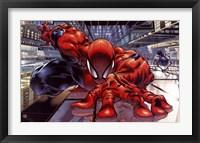 Framed Spider-Man - Wall Crawler