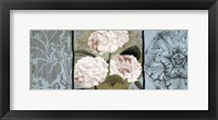 Framed Pink Hydrangeas Panel I