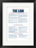 Equal Opportunity Employment 2012 Framed Print