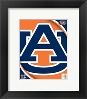 Framed Auburn University Tigers Team Logo