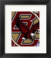 Framed Boston College Eagles Team Logo
