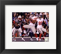 Framed Victor Cruz Touchdown Catch Super Bowl XLVI