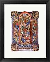 Framed Miracle of Pentecost, Berthold Missal