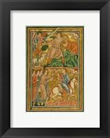Framed Angel Halts Abraham's Sacrifice of Isaac