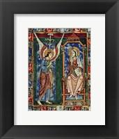 Framed St. Albans Psalter