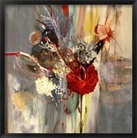 Framed Floral Life