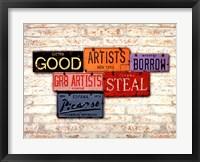 Framed Picasso, Steal
