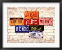Framed Life & Death
