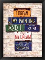 Framed Vincent, Dream