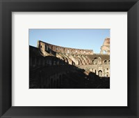 Roman Colosseum, Interior Framed Print