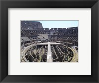 The Colosseum in Rome Framed Print
