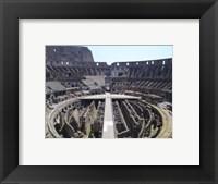 The Colosseum in Rome Framed Print
