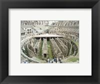 Colosseum Interior Framed Print