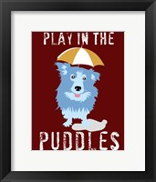 Framed Play in the Puddles