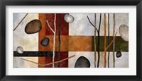 Framed Sticks and Stones IX