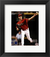 Framed Randy Johnson 2008 Action