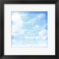 Framed Don't Quit - sky