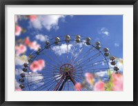 Sky Ride I Framed Print