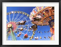 Sky Ride II Framed Print