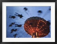 Sky Ride III Framed Print