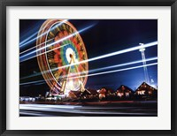 Sky Ride IV Framed Print