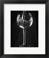 Framed Wine Glass